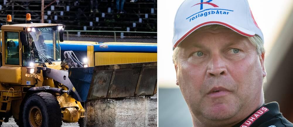 Dackarnas Mikael Teurnberg fokuserar inte på vädret – trots dystra förhandsprognoser.