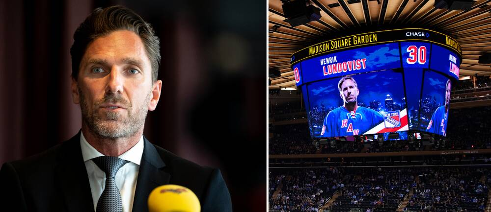 Henrik Lundqvists tröja hissas den 28 januari.