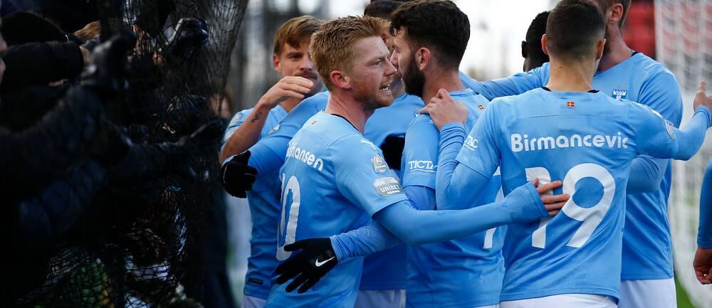 Malmö måljublar mot Östersund
