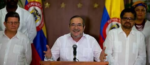 Timoleón Jiménez, ledare för FARC-gerillan.