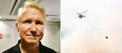 Mikael Tofvesson, biträdande chef för MSB:s operativa avdelning.