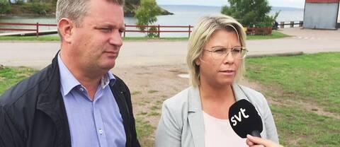 Jonas Andersson (M) Annicki Oscarsson (KD) Ödeshög Hästholmen