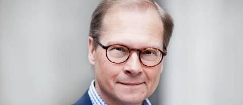 SVT:s politiska kommentator Mats Knutson.