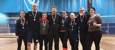 Wanjura och Tebibel vinnare i badminton-SM för döva