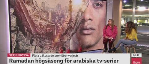 Journalisten Amal Aziz berättar om ramadanseriernas högsäsong.