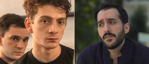 Regissören Levan Akin (till höger) har regisserat And then we danced som visas på filmfestivalen i Cannes.