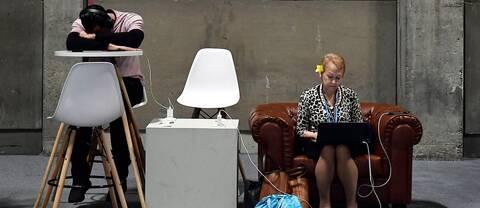 Utmattade delegater på klimatmötet i Madrid