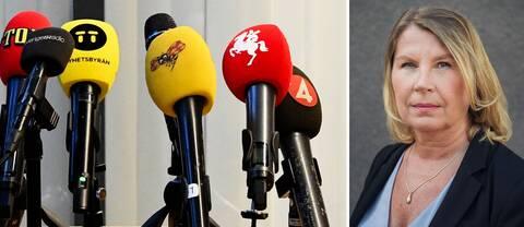 Charlotta Friborg, SVT Nyheters ansvariga utgivare