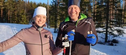 Clara Henry och Mattias Svahn