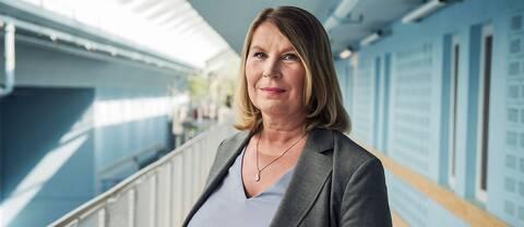 Charlotta Friborg, ansvarig utgivare för Riksnyheternas olika plattformar.