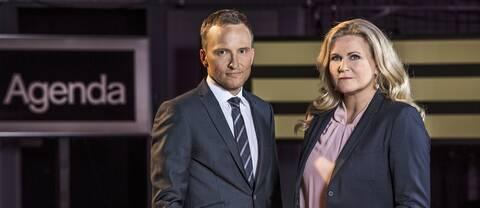 Anders Holmberg och Camilla Kvartoft