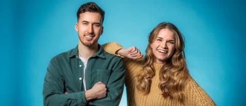 Kamil Bochenski och Louise Andersson är nya programledare för Lilla Sportspegeln.