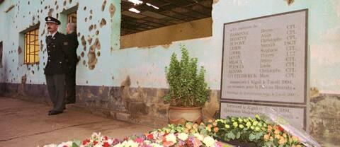 Under folkmordet i Rwanda mördades 800.000 människor brutalt.