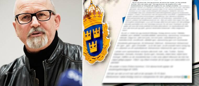 Peter Springare, polis