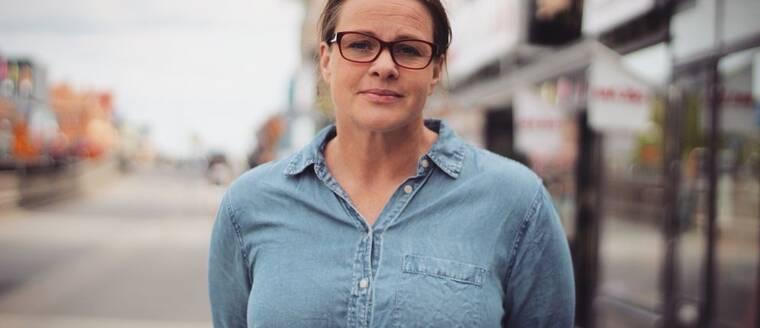 Reporter Sophie Olsson Rahlen