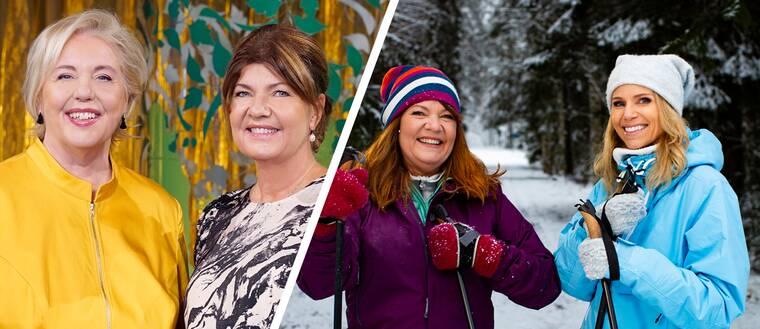 Suzanne Axell och Karin Granberg i Fråga doktorn, samt Karin Granberg och Sofia Rågenklint i Fråga doktorn hälsa.