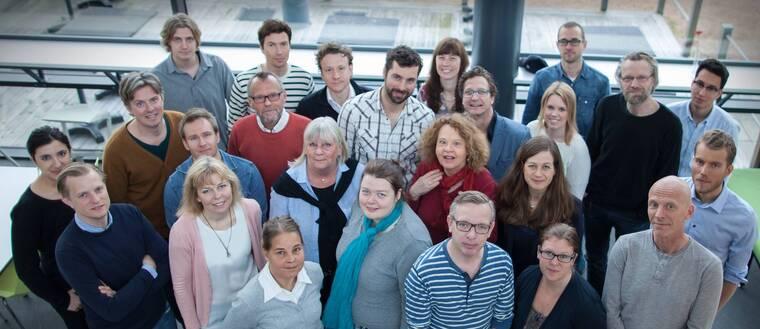 Redaktionen på SVT Nyheter Väst.