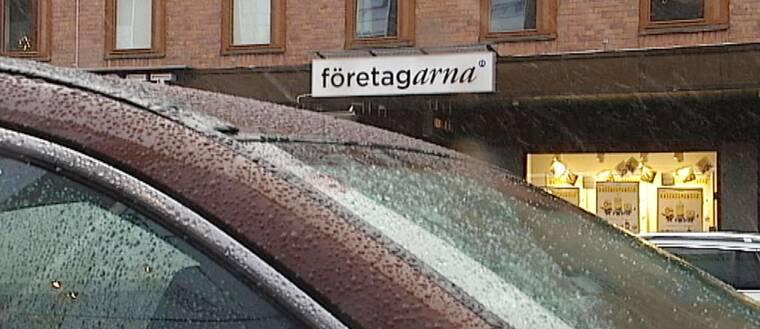 Skylt Företagarna i Luleå