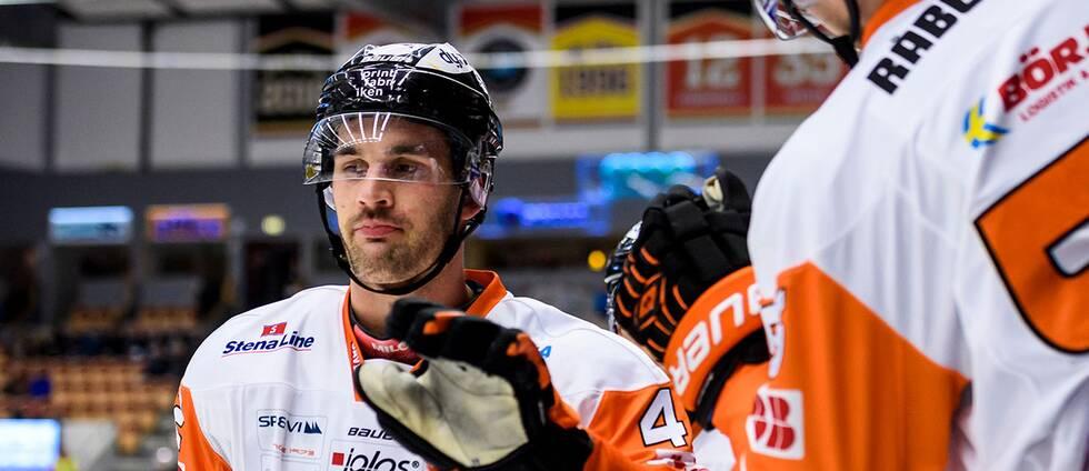Officiellt blev Niklas Arell matchhjälte för Karlskrona.