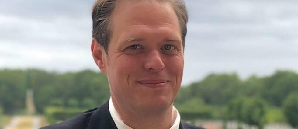 Jonas Millard, distriktsordförande för (SD)