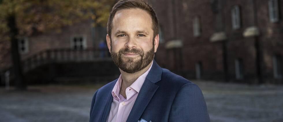 Kulturborgarrådet Jonas Naddebo (C)