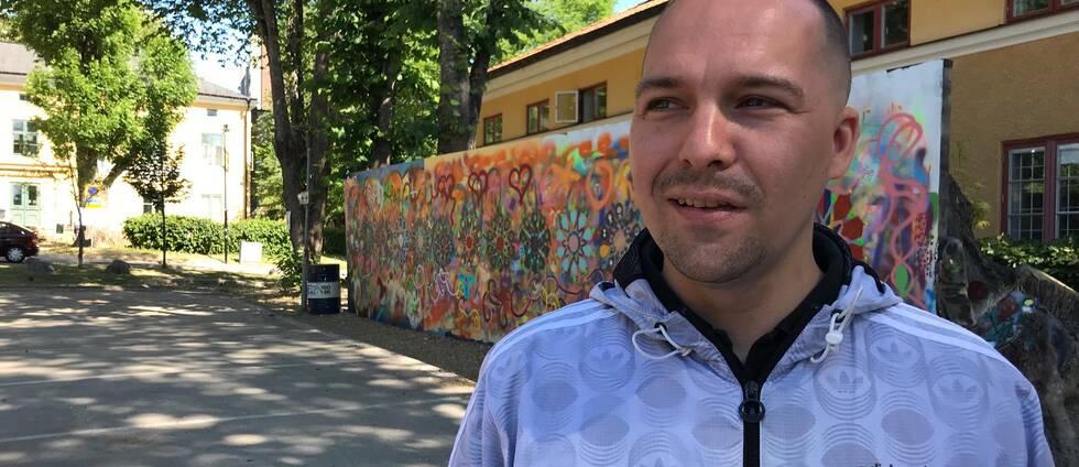 Andreas Ali Jonasson, forskningsassistent Mångkulturellt centrum
