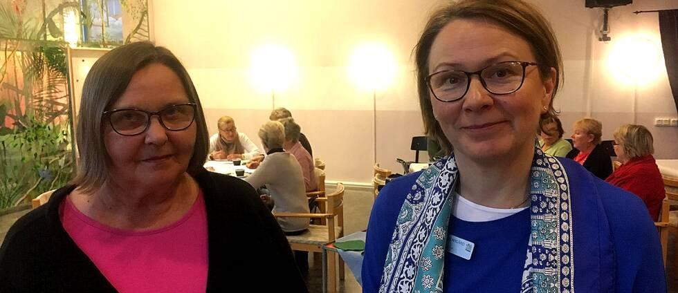 Hilkka Wärnbäck och Nina Klinge-Nygård