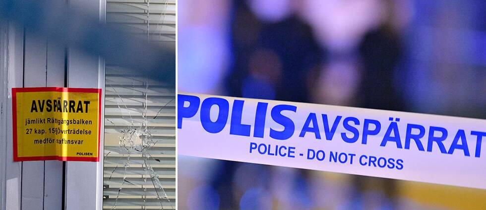 Flera skjutningar mot bostäder i Malmö