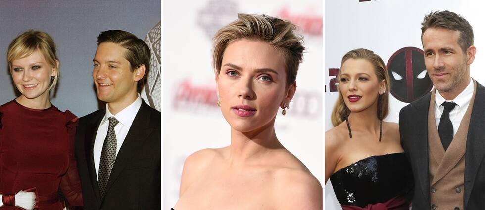 Kirsten Dunst, Tobey Maguire, Scarlett Johansson, Blake Lively och Ryan Reynolds.