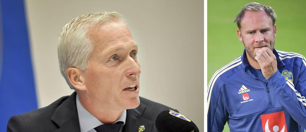 Håkan Sjöstrand, generalsekreterare Svenska Fotbollförbundet, kommenterar nu landslagets Anderas Granqvists uttalande