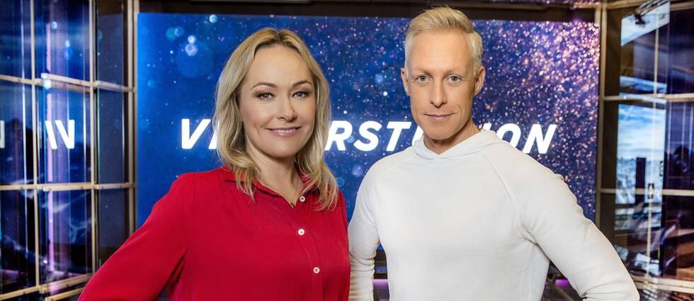Yvette Hermundstad och André Pops.