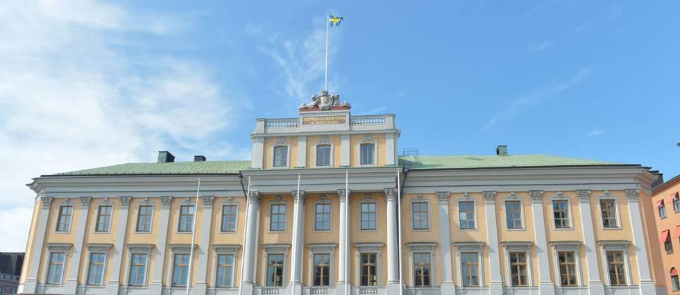 Utrikesdepartementet vid Gustaf Adolfs torg i Stockholm.