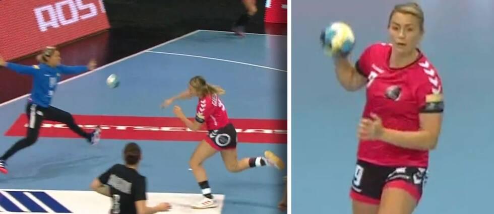 Isabelle Gulldén i sin comeback.