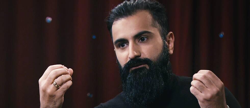 Hanif Bali (M) intervjuas av Anna Hedenmo i SVT:s Min sanning