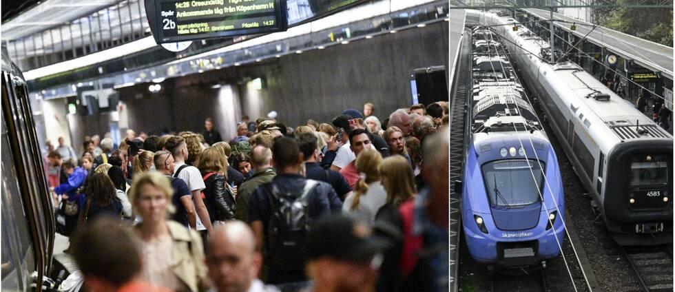 Nu sätts fler tåg in mellan Helsingborg och Malmö