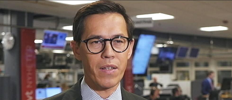 SVT:s politikreporter Love Benigh.