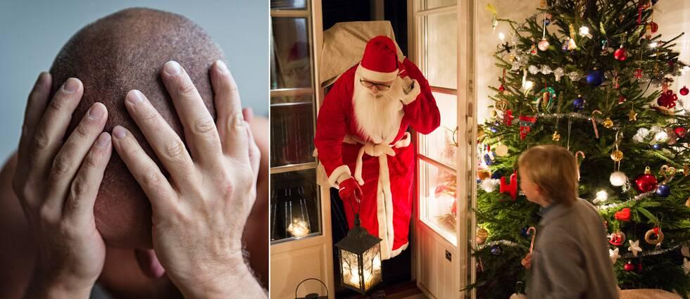 """""""Teorin är att det är finns en stor social stress som påverkar"""", säger David Erlinge, professor i Kardiologi vid Skånes universitetssjukhus i Lund, om att hjärtinfarkterna ökar över julhelgen."""