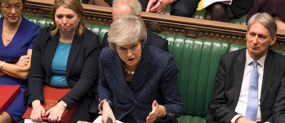 Theresa May vann förtroendeomröstning