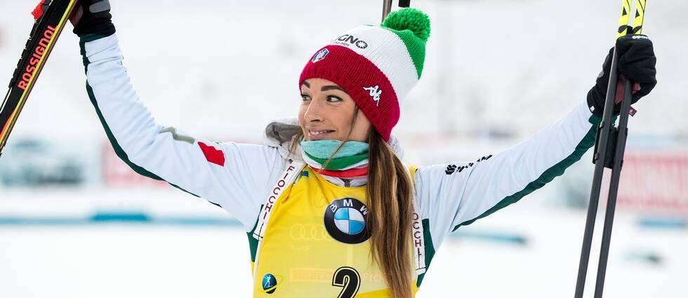 Italienskan Dorothea Wierer.