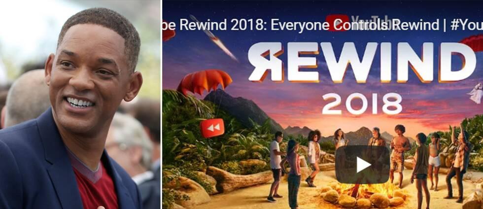 Will Smith och Youtube Rewinds tumnagel
