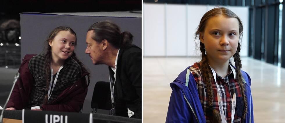 """""""Jag tror inte att mina klasskamrater vet om vad jag håller på med"""", säger 15-åriga Greta Thunberg när SVT träffar henne på klimatmötet i Katowice."""