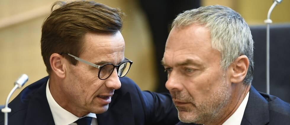 Ulf Kristersson och Jan Björklund
