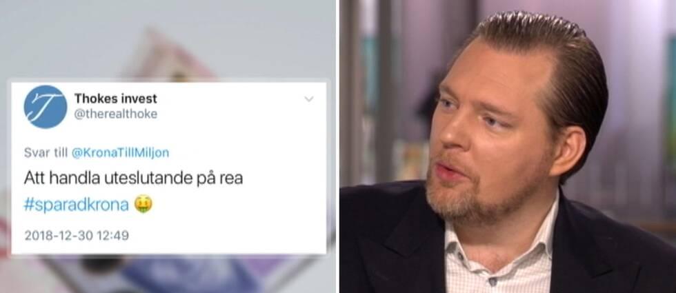 Günther Mårder, vd Företagarna, diskuterar sparande i Morgonstudion.
