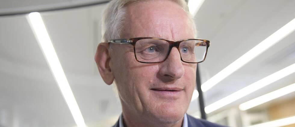 Moderaternas tidigare partiledare och utrikesminister Carl Bildt.