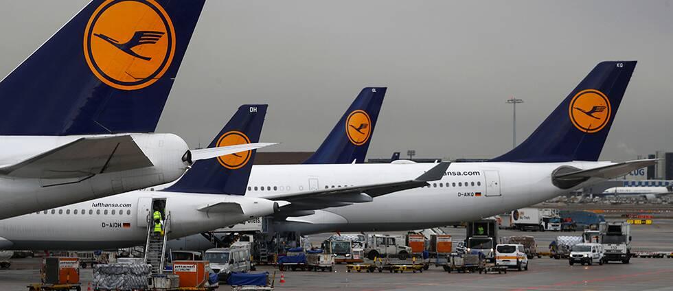 Tysk strejk ställer in Sverigeflyg