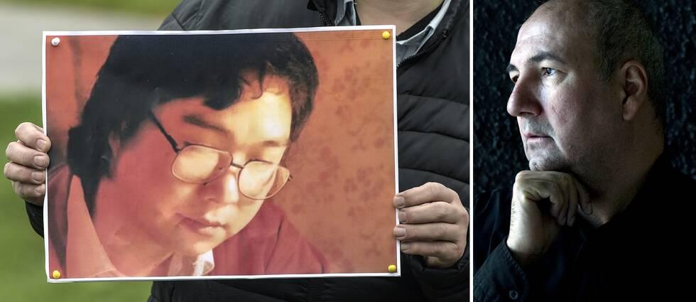 Författaren Kurdo Baksi har engagerat sig stort i fallet Gui Minhai – förläggaren som sitter fängslad i Kina.