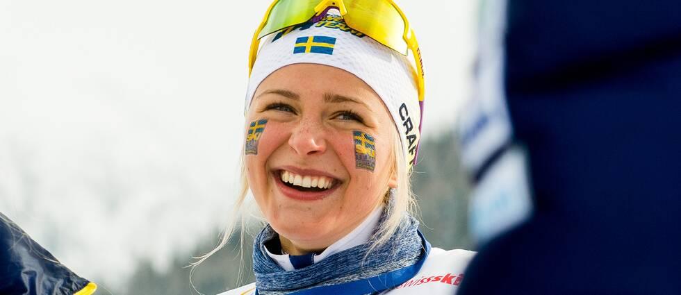 Frida Karlsson. Arkiv.