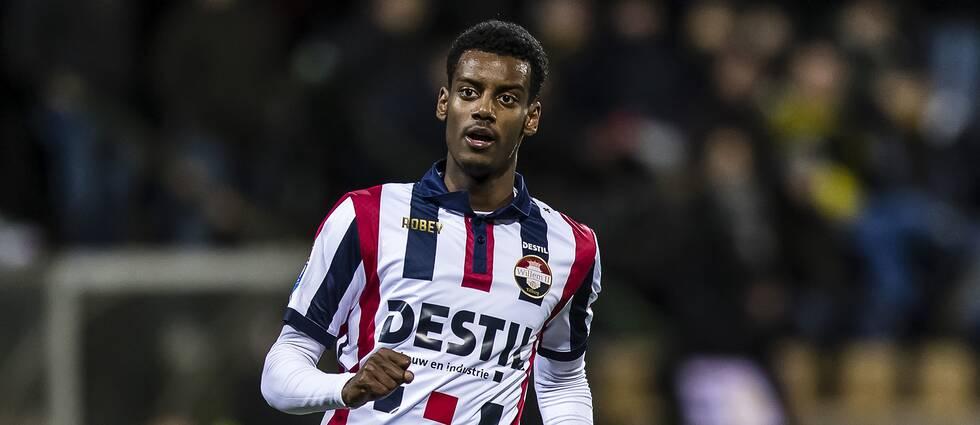 Alexander Isak gjorde i kväll sitt första mål Willem II.