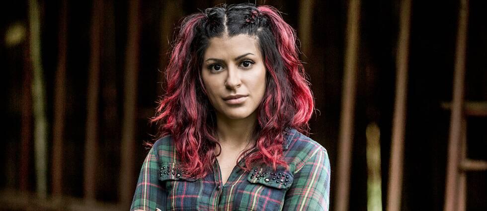 Mina Motazed Keyvani, deltagare i realityserien Nedsläckt land.