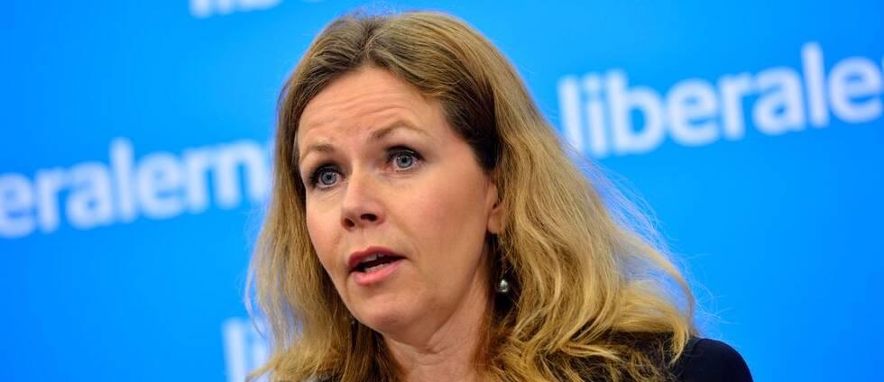 Liberalernas EU-parlamentariker Cecilia Wikström